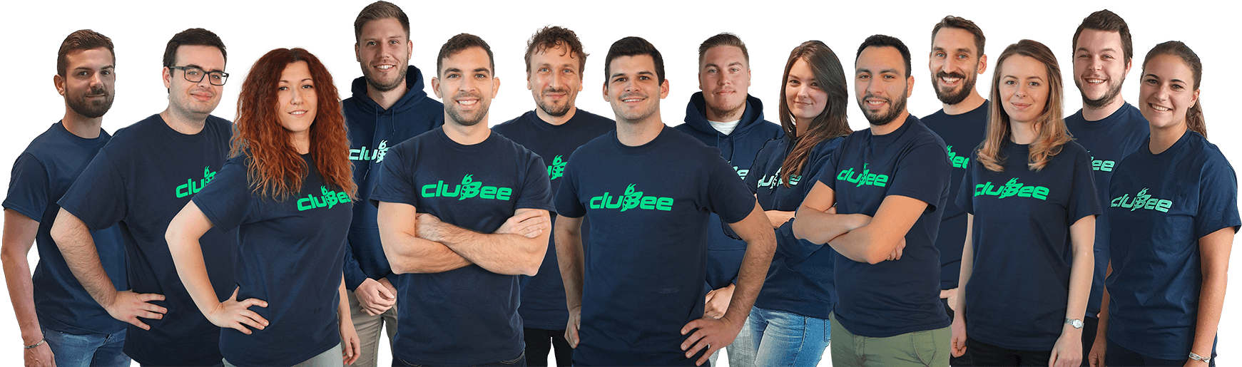 Clubee team photo